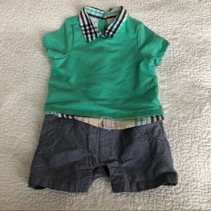 Cat & Jack One Piece Shorts outfit 18m